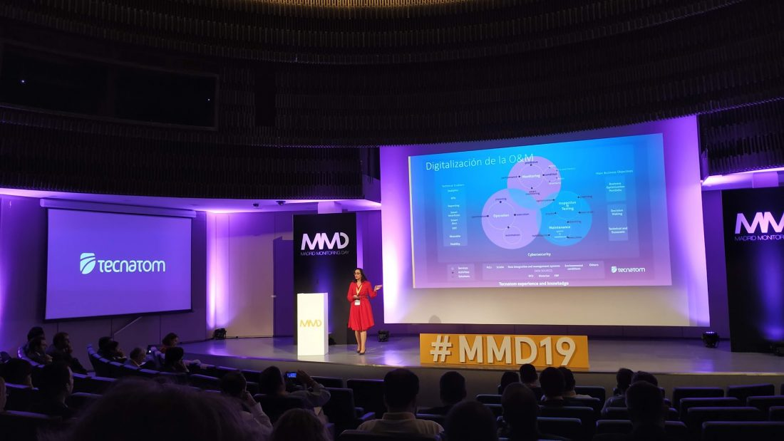 Ponencia de Ana Isabel Gálvez, Digital Transformation Director en Tecnatom, Operación Digital y Gestión de Activos - La Magia de los Datos, desde los Displays Inteligentes al Digital Twin