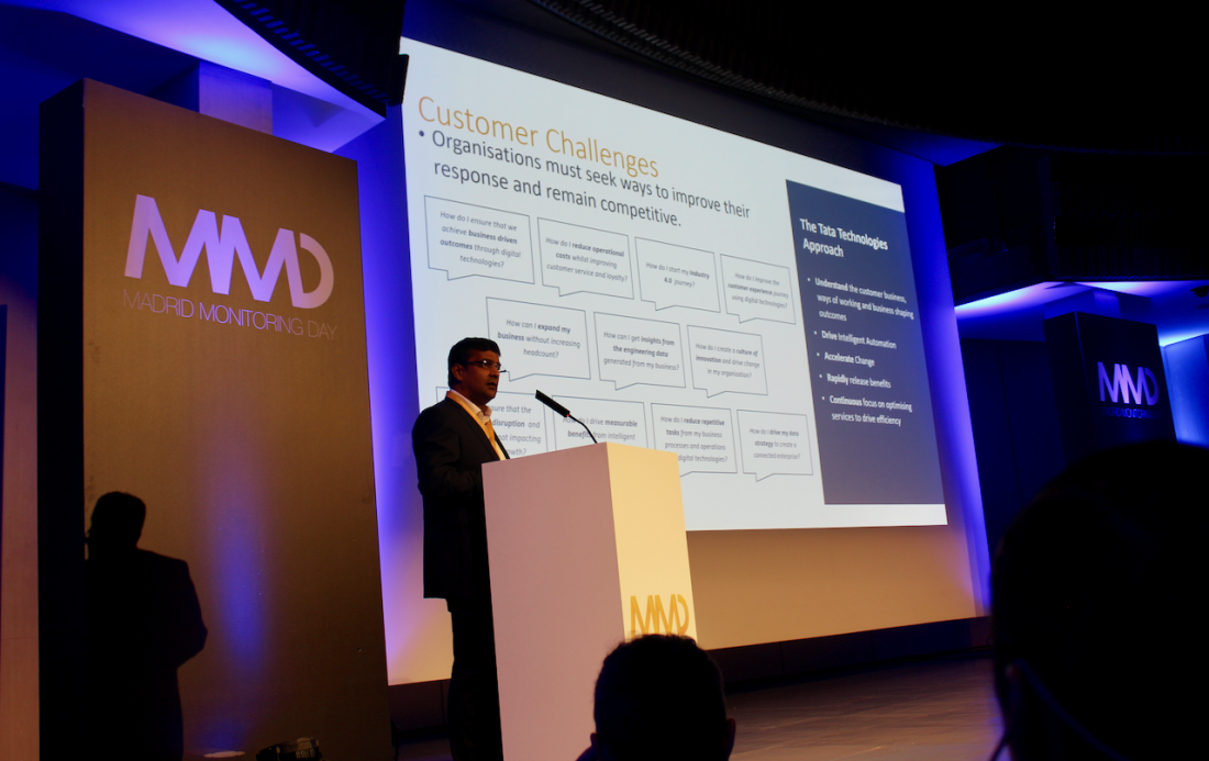 Ponencia de Raja Ganguly, Vice President - Global Head - Digital Services, TATA - Inteligencia Operacional en la Industria 4.0