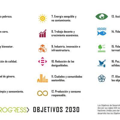 Conoce cuales son los 17 Objetivos de Desarrollo Sostenible. La tecnología para construir un mundo con el que todos soñamos Objetivos 2030.