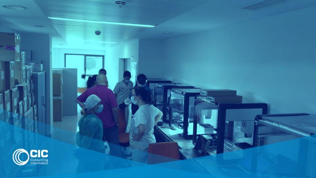 Proyecto CovidRobots Santander